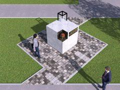 Пам'ятний знак хмільничанам-ліквідаторам наслідків аварії на ЧАЕС стоятиме у Хмільнику перед районним Будинком культури