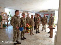 Сьогодні у Хмільнику відзначили День захисника України