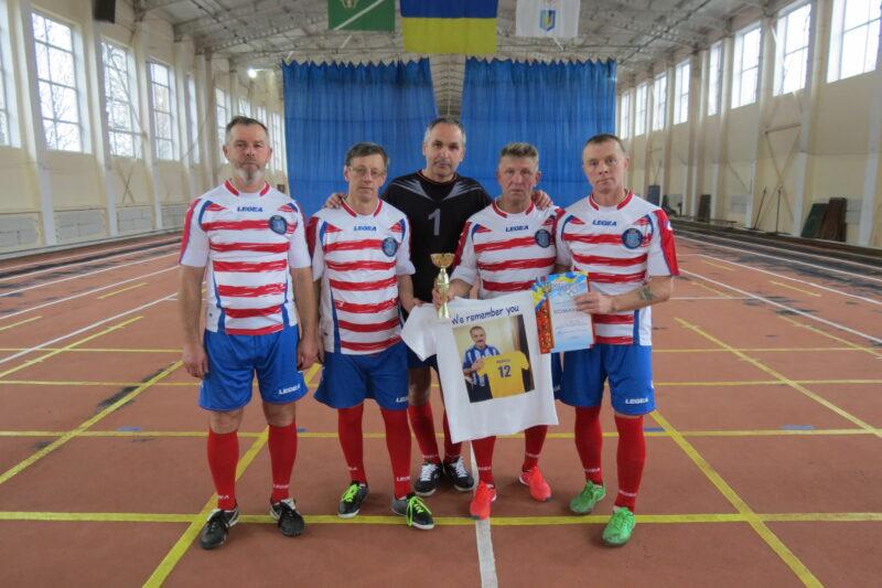 В обласному турнірі з футзалу ветеранська команда Хмільника здобула бронзу