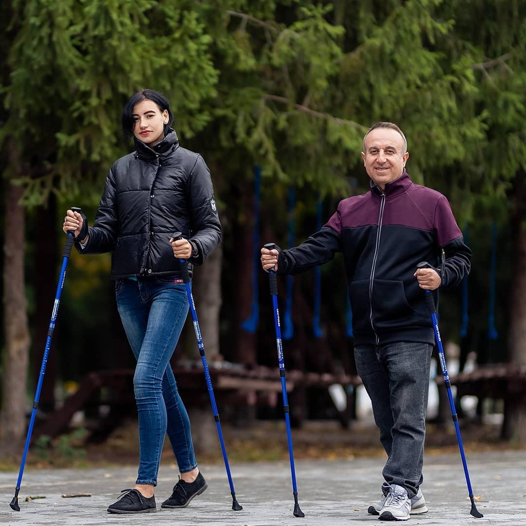 Хмільничан запрошують на заняття по скандинавській ходьбі з 1 грудня