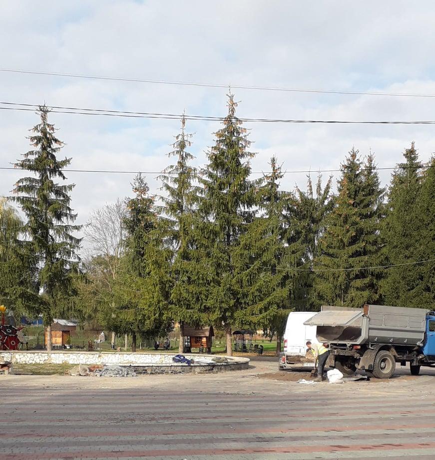 У центральній частині міського парку Хмільника буде фонтан