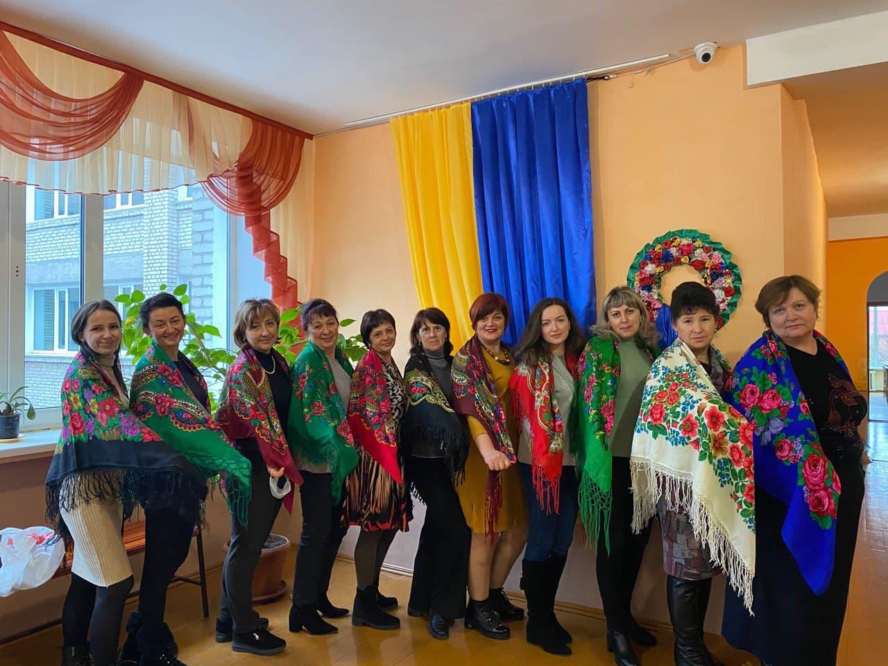 Хмільничанки взяли участь у флешмобі й стануть рекордсменками України