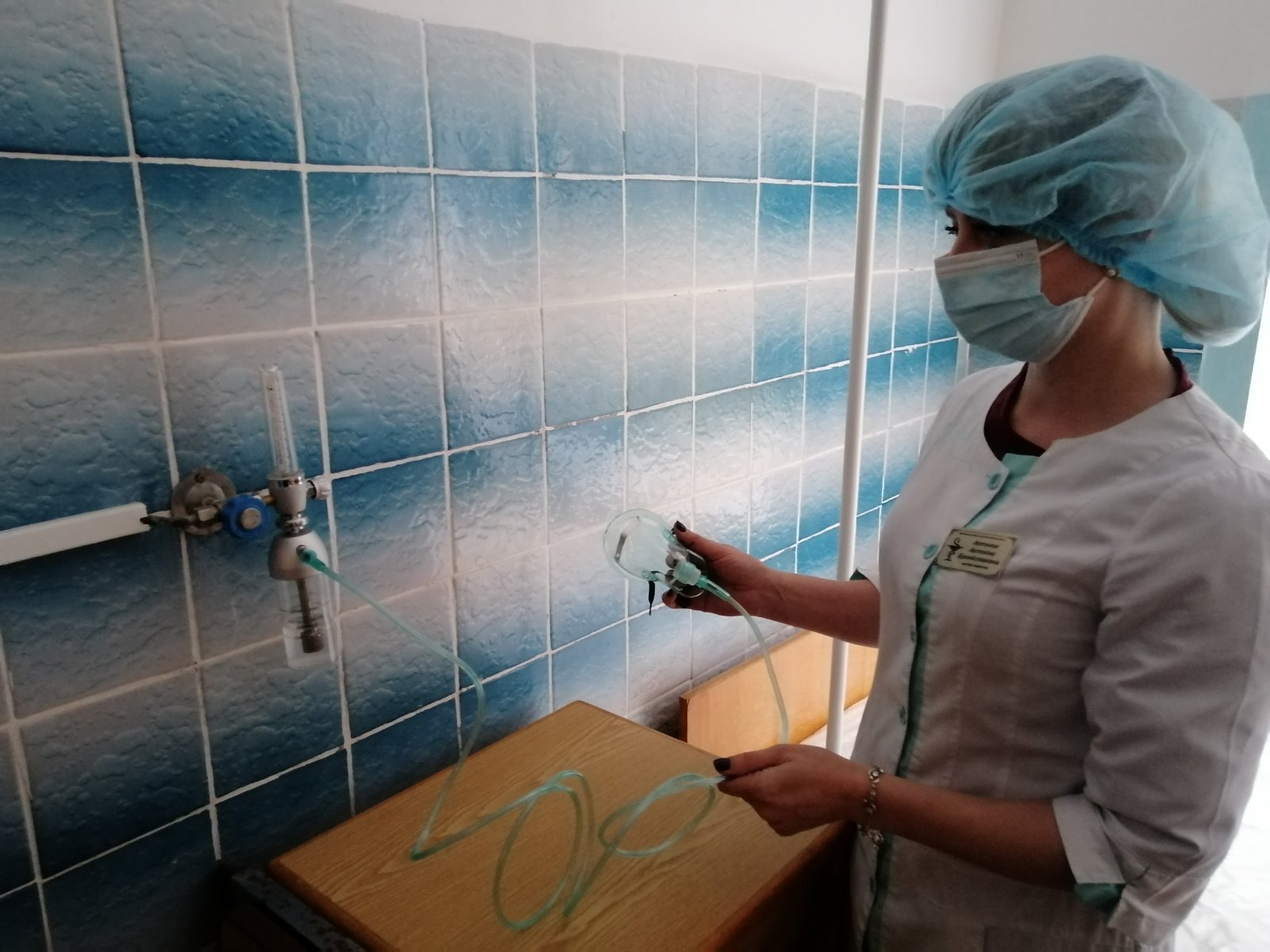 Хмільницька ЦРЛ отримала субвенцію з місцевого бюджету на забезпечення подачі кисню