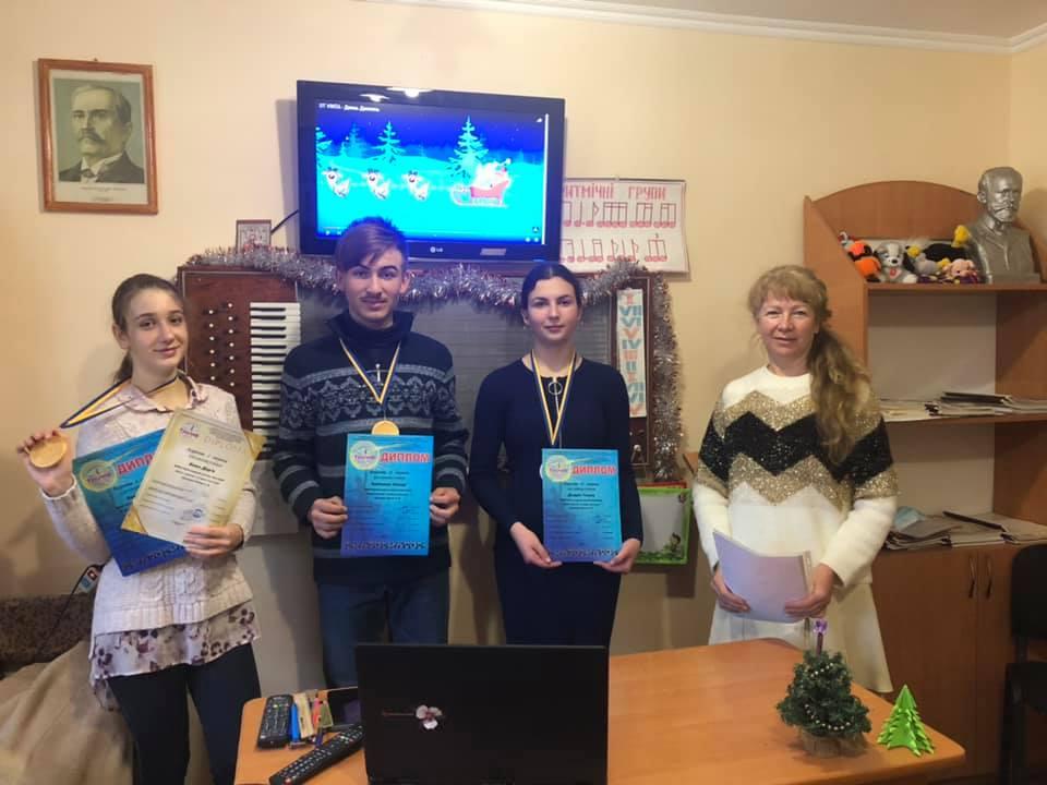 Нові перемоги талановитих учнів Хмільницької школи мистецтв