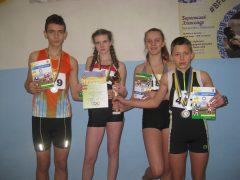 Хмільницька команда здобула третє переможне місце в змаганнях з легкої атлетики