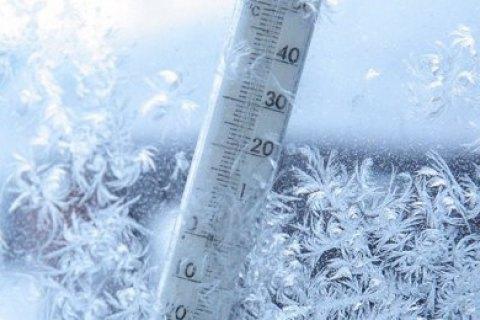 На вихідних очікується до 14 градусів морозу: хмільничанам на дорогах варто бути обережними через ожеледицю