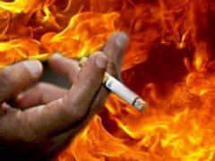 Через цигарки ледь не спалив житло: у Хмільницькому районі горів будинок