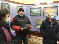 В Історичному музеї Хмільника відкрилася виставка робіт місцевих художників