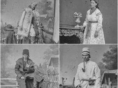 На фото, які датуються XIX століттям та знаходяться в колекції музею міста Кракова, зображена й жінка з Хмільницького району