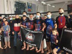 Хмільницькі спортсмени  здобули переможні місця в  Чемпіонаті області з бойового мистецтва