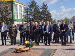 Жителі Хмільника й Хмільниччини вшанували пам'ять учасників Другої світової війни
