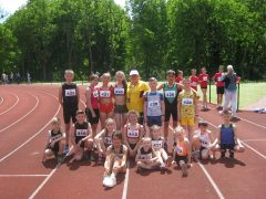 Хмільницькі легкоатлети здобули переможні місця в Чемпіонаті Вінницької області