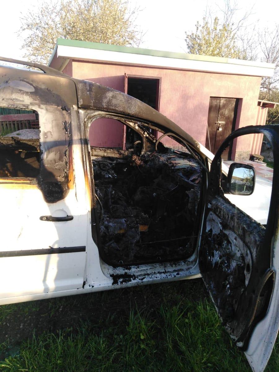 В Малому Митнику згорів автомобіль
