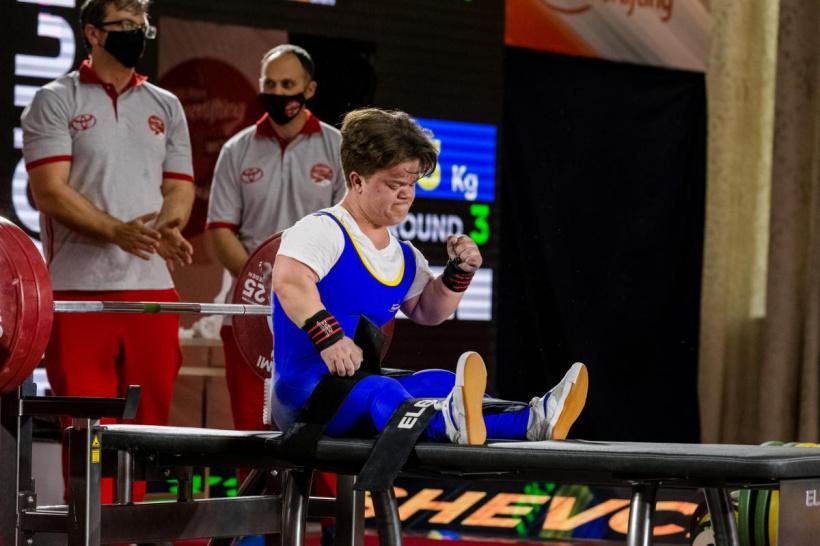 Новий рекорд і золоту медаль здобула хмільничанка Мар'яна Шевчук на кубкові світу в Грузії