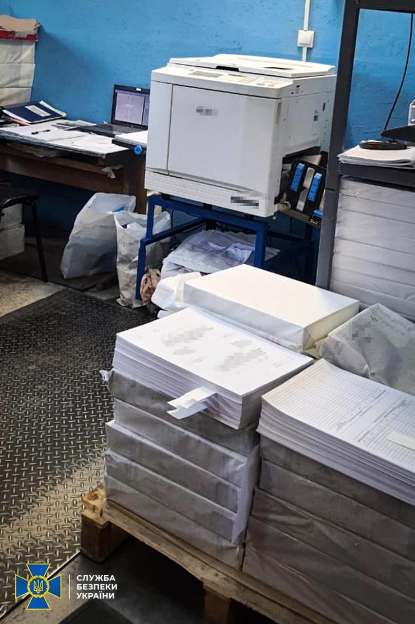 У Вінниці друкували агітки антиконституційного характеру: тривають слідчі дії