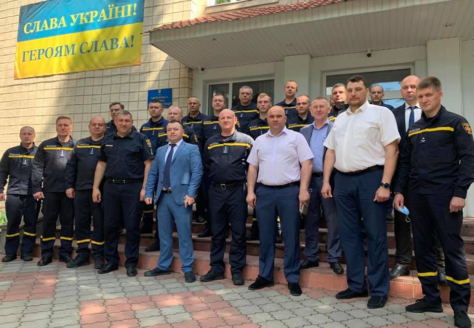Сьогодні представили новопризначеного начальника Хмільницького районного управління ГУ ДСНС у Вінницькій області