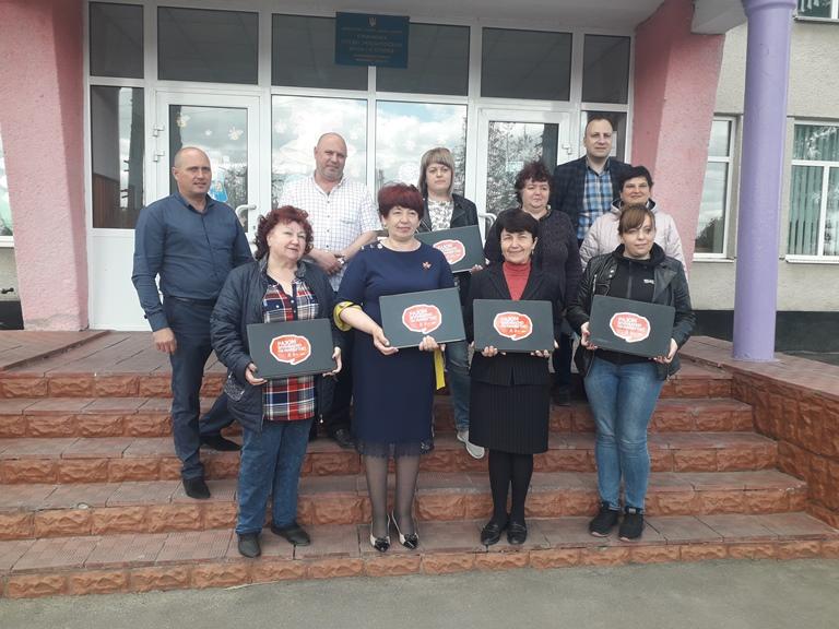 """Качанівська школа – переможець конкурсу """"Дієва школа"""""""