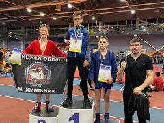 Знай наших! На Кубку України з бойового самбо хмільничани здобули переможні місця