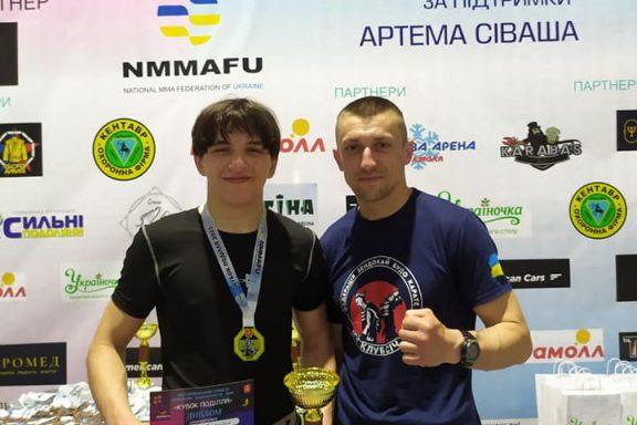"""Хмільничани здобули переможні місця на Всеукраїнському турнірі з ММА """"Кубок Поділля"""""""