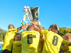 Футбольна команда з Калинівки Хмільницького району пройшла в 1/4 фіналу розіграшу Кубку захисників України