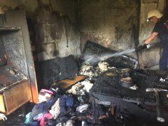 Сьогодні у Хмільнику горіла квартира
