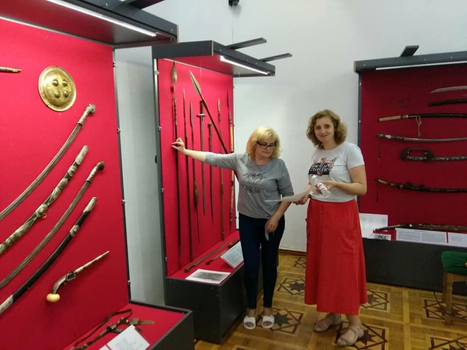 Хмільничани можуть відвідати експозицію зброї та військового спорядження