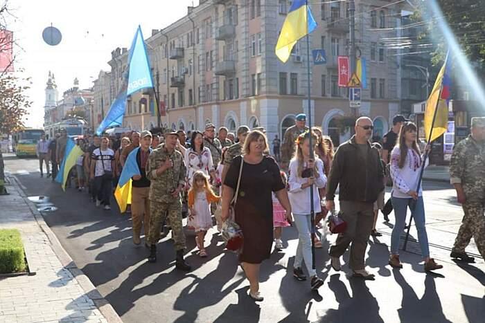 У Вінниці відбудеться Марш захисників України