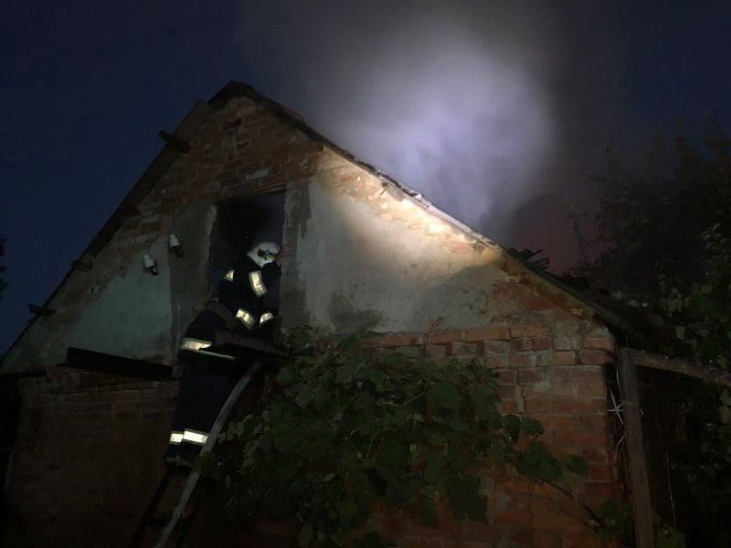 Вчора на Хмільниччині пожежа завдала збитків на десятки тисяч гривень