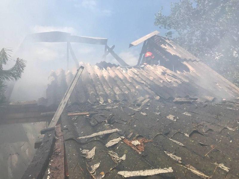 Під час пожежі травмувався житель Хмільницького району