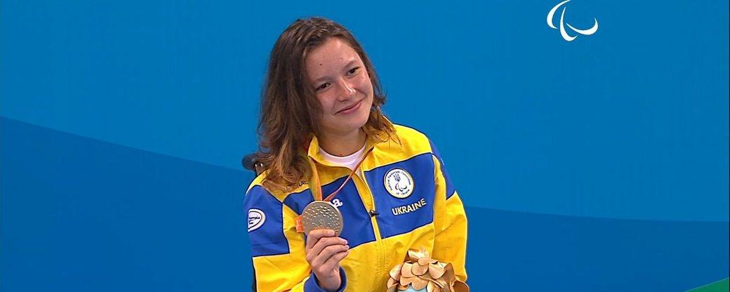 Українка здобула першу золоту медаль на Паралімпійських іграх у Токіо
