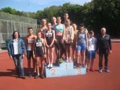Хмільницькі легкоатлети стали переможцями в чемпіонаті Вінницької області з легкої атлетики