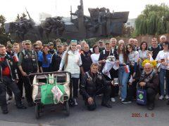 Хмільник відвідали учасники Катинського мотопробігу