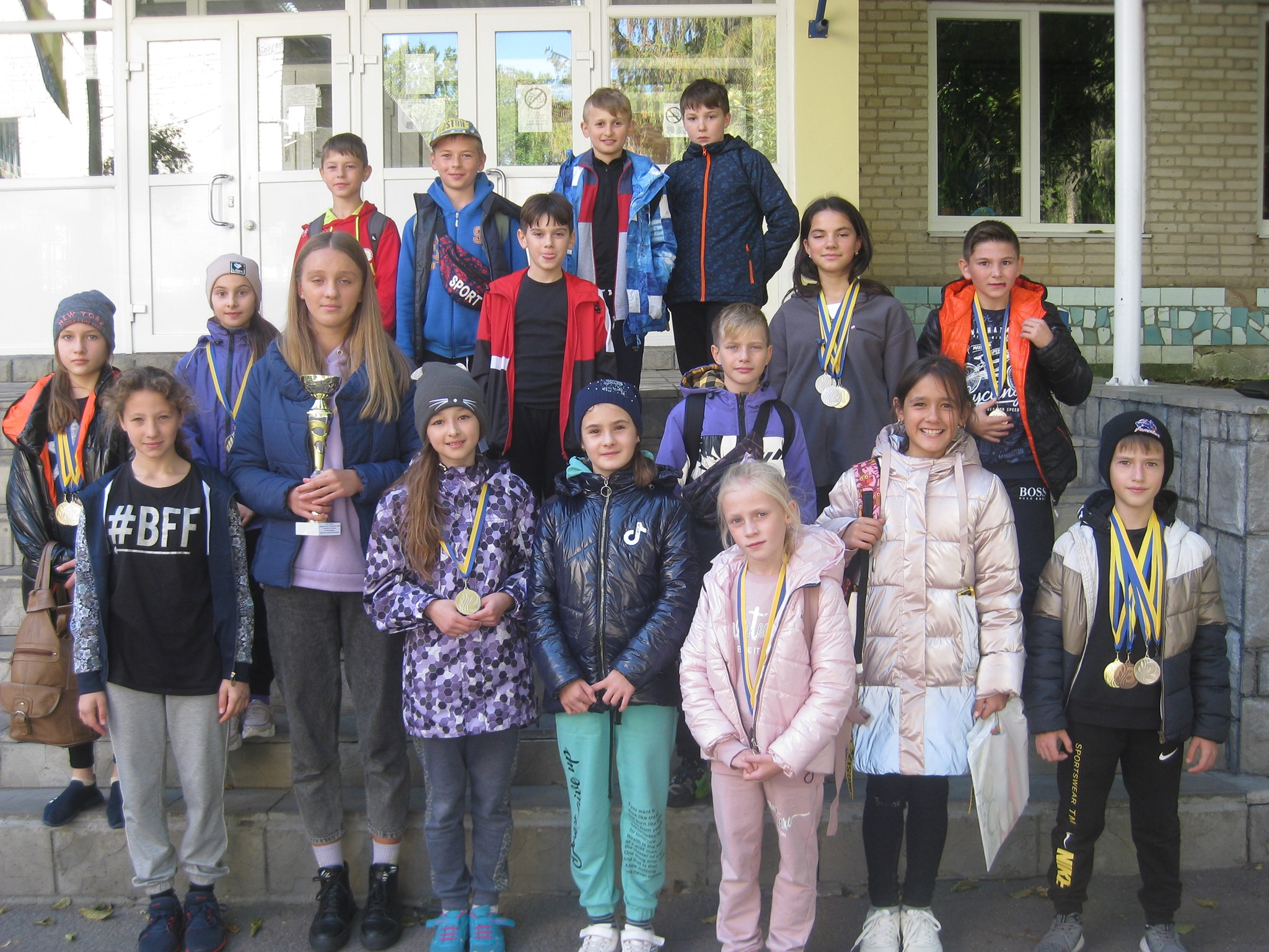 Хмільницька команда здобула друге переможне місце в обласному чемпіонаті з легкої атлетики