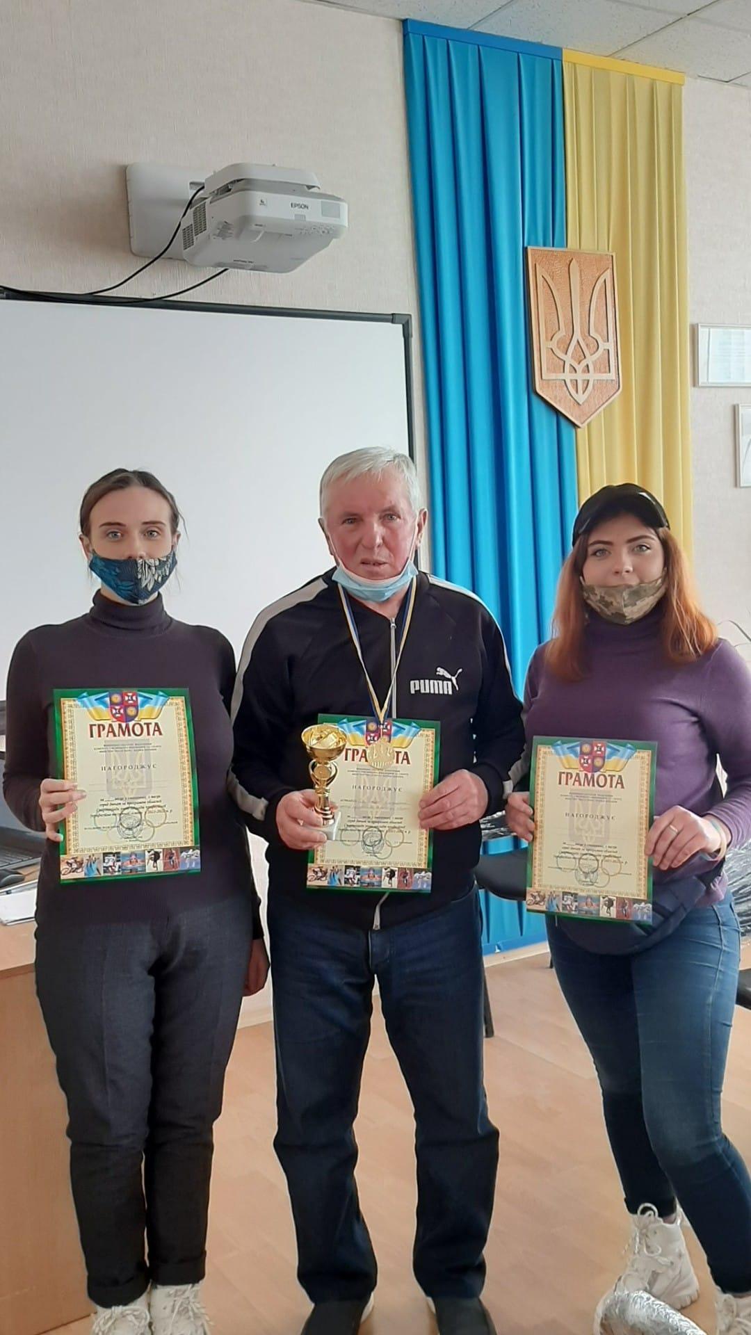 Перемогу в обласній Спартакіаді з шахів здобула команда Хмільницького аграрного ЦПТО