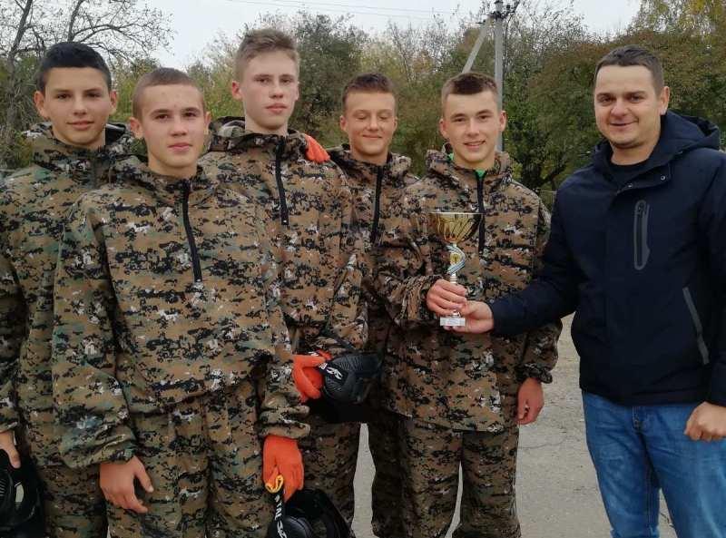 Змагання з пейнтболу провели серед учнів шкіл Хмільника